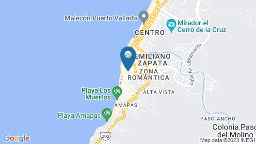 Hotel Eloisa Map