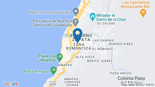 HOTEL TROPICUS BOUTIQUE Map