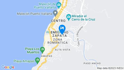 Tradicional Villa Del Mar Map