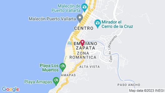Garlands del Río Map