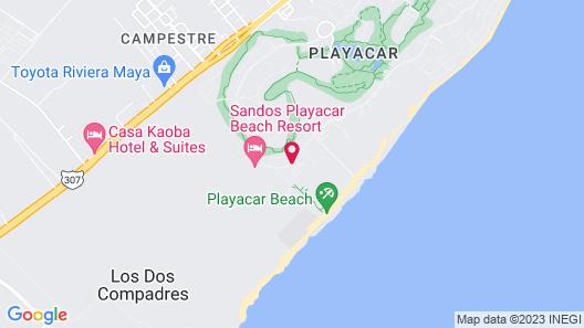Iberostar Tucan All inclusive Map