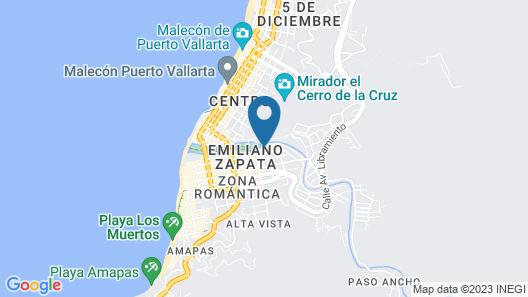 Rivera del Rio Boutique Hotel Map