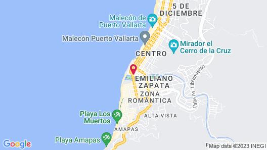 Hotel Encino Map