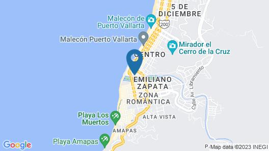 Hotel Porto Allegro Map
