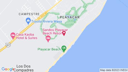 Riu Palace Mexico All Inclusive Map
