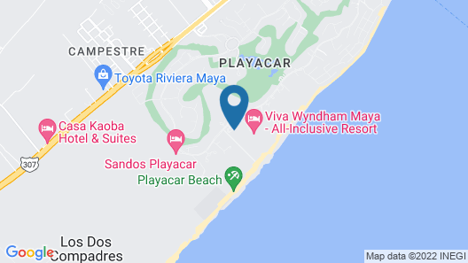 Riu Palace Mexico All Inclusive Map