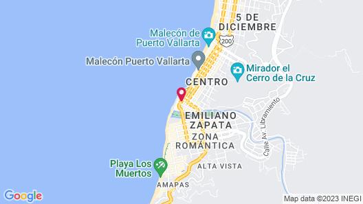 Hotel Rio Malecon Map