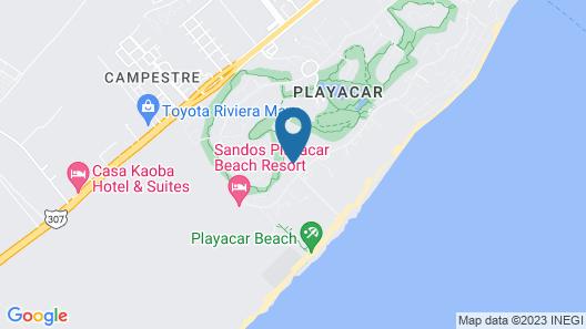 Riu Tequila - All Inclusive Map