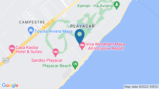 Riu Playacar All Inclusive Map