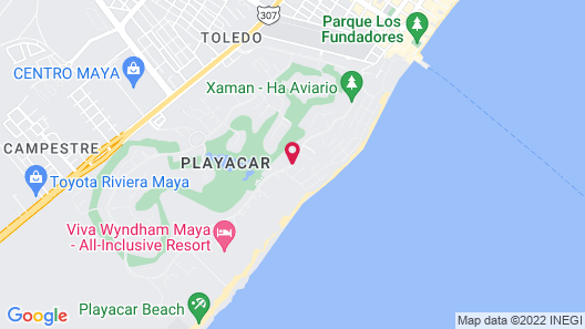 Paseo del Sol Condohotel by Bric Map