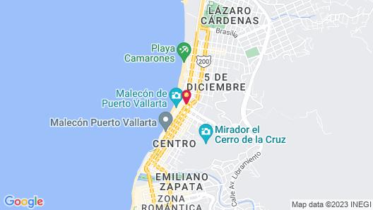 Suites Malecon Vallarta Map