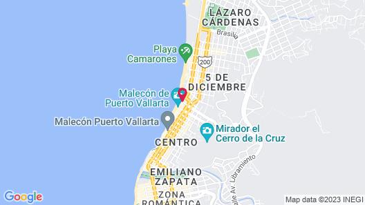 Rosita Hotel Map