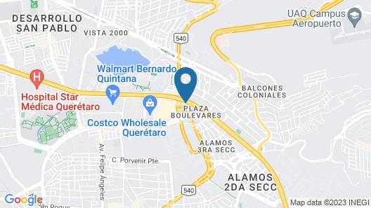 Grand Fiesta Americana Queretaro Map