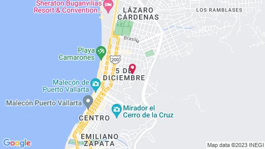 Artes Bed & Breakfast Map