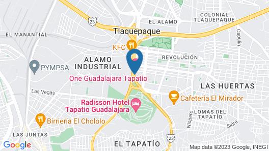 One Guadalajara Tapatio Map