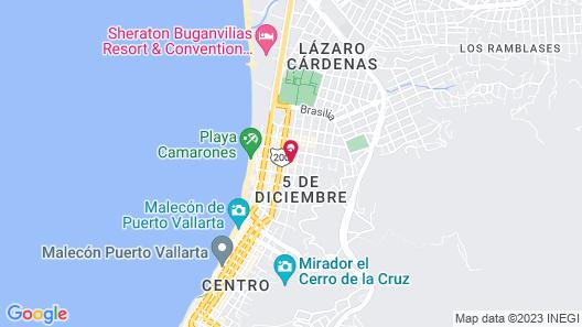 Paloma Del Mar Map