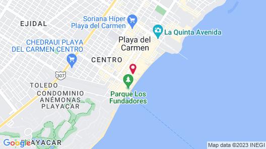 Hotel Cielo Map