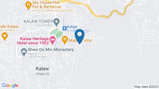 Thitaw Lay House B & B Map
