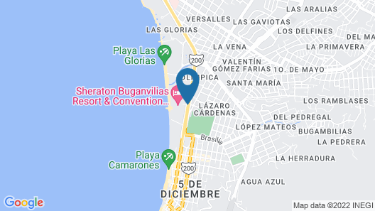 Sheraton Buganvilias Resort & Convention Center Map