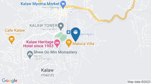 Royal Kalaw Hills Resort Map