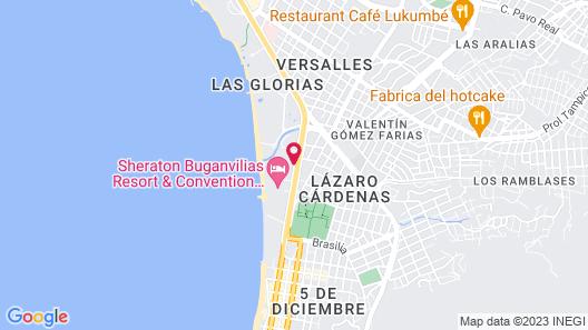 Costa Club Punta Arena Hotel Map