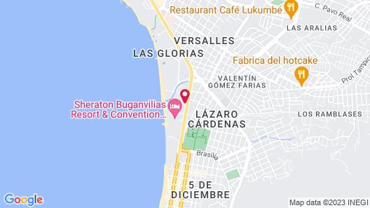 Costa Club Punta Arena Hotel - All Inclusive Map