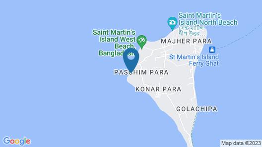 The Atlantic Resort Saint Martin Map