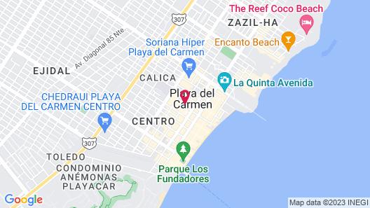 La Pasion Hotel Boutique by Bunik Map