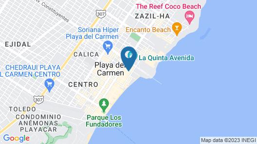 Hotel Mariachi by Kavia Map