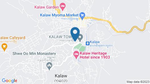 Dream Mountain Resort Map