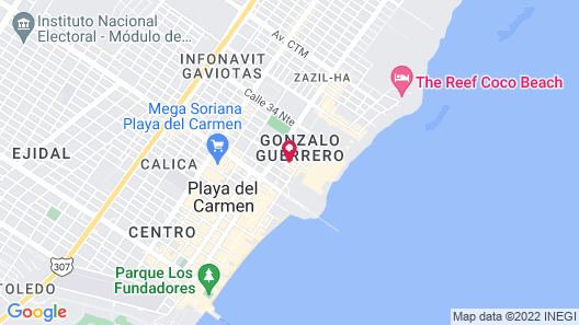 Posada Mariposa Boutique Hotel Map