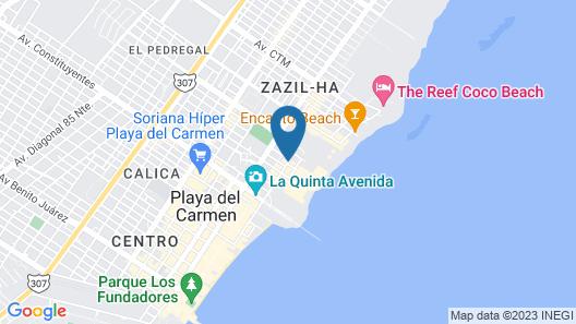 Riviera del Sol Map