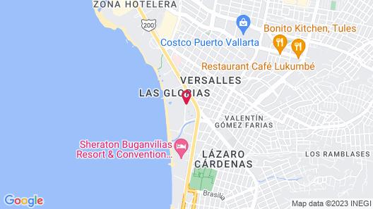 Dreams Vallarta Bay Resort & Spa - All Inclusive Map