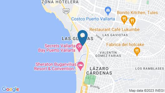 Now Amber Puerto Vallarta Resort & Spa Map