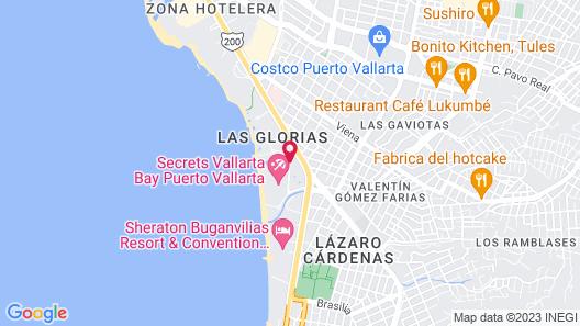 Now Amber Puerto Vallarta Resort & Spa - All Inclusive Map