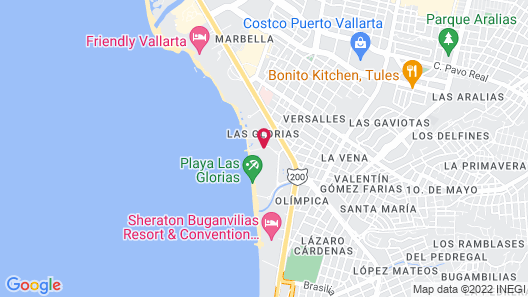 Canto Del Sol Puerto Vallarta All Inclusive Map