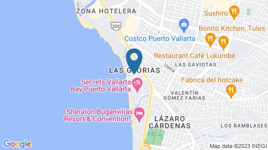 Plaza Pelicanos Grand Beach Resort - All Inclusive Map