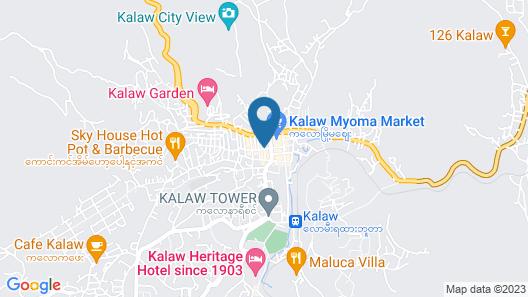 Parami Motel Map