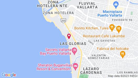 Las Palmas by the Sea Map