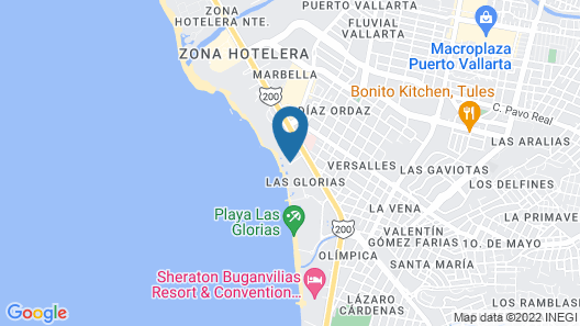 Las Palmas by the Sea - All Inclusive Map