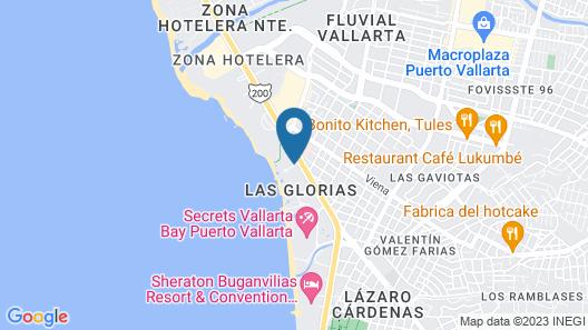 Plaza Pelicanos Club Beach Resort All Inclusive Map