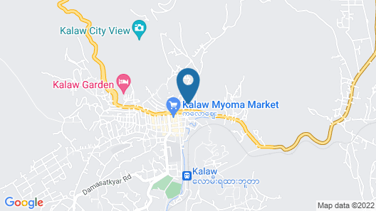 Famous Hotel Kalaw Map