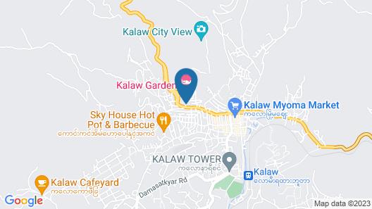 Kalaw Garden Hotel Map