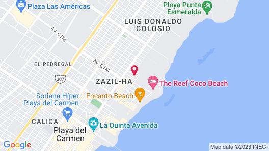 Las Perlas Condo Map
