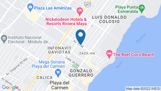 Pavo Real City Map