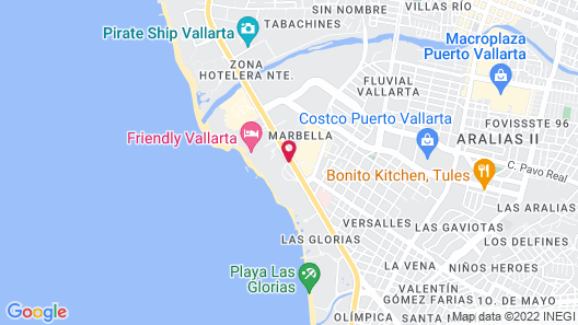 Los Tules Resort Map