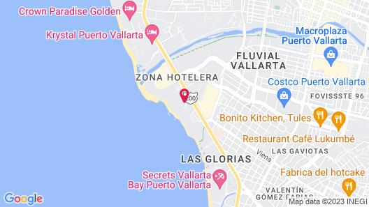 Fiesta Americana Puerto Vallarta All Inclusive & Spa Map