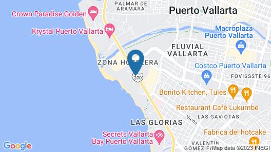 Friendly Vallarta All Inclusive Family Resort & Convention Center Map