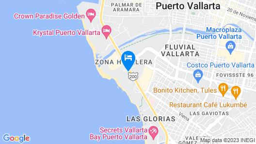 Hotel Mio Vallarta - Adults Only Map