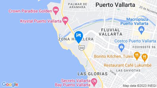 Villa del Palmar Beach Resort and Spa, Puerto Vallarta Map